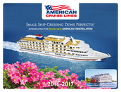 American Cruise Lines - 2016/2017. Please call 01902 798008 for a brochure