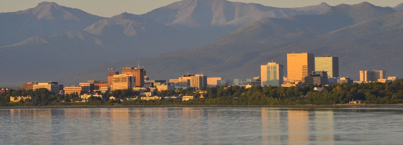 AK - Anchorage and Chugach Mountains - Roy Neese