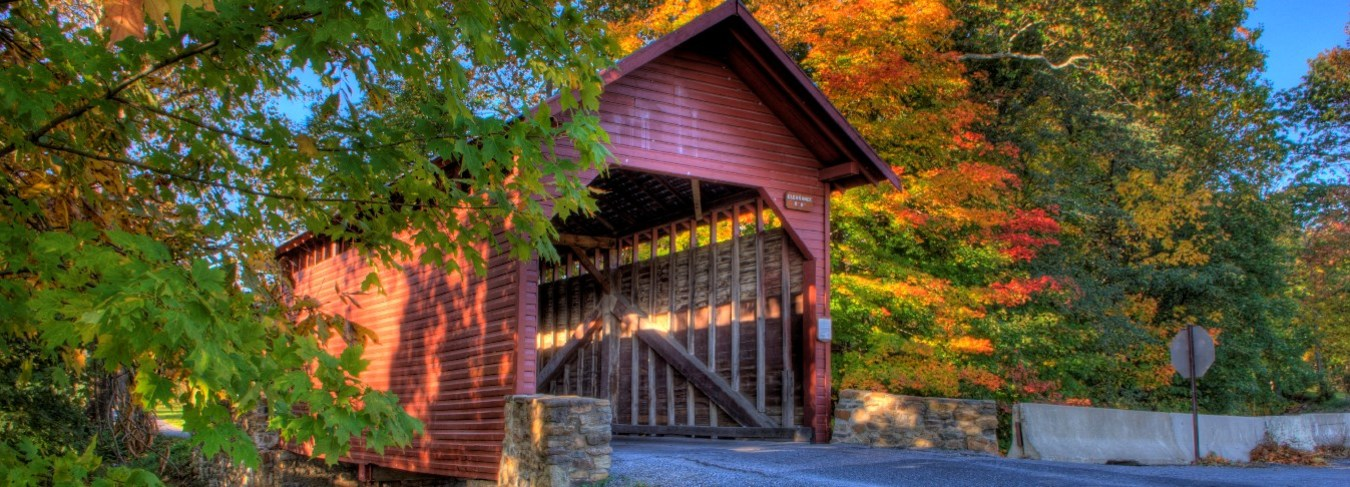 MD, Covered Bridge, Thermont,