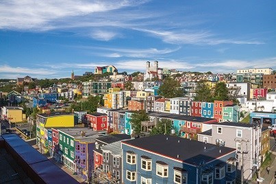 NF, St. John's Cityscape credit Barrett & Mackay Photo  NFLD Tourism