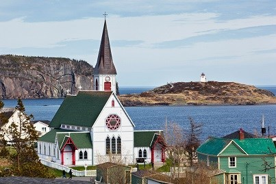 NF, St. Paul's Anglican Church in Trinity credit NFLD Tourism