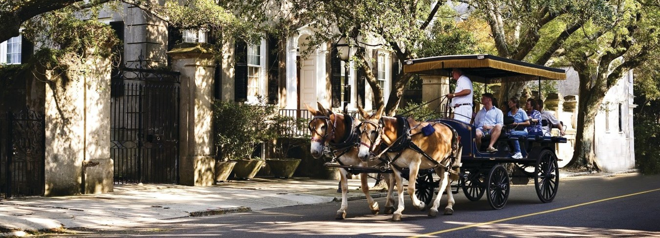 SC, Charleston Carriage Tour Image Courtesy of the Charleston Area CVB, ExploreCharleston.com