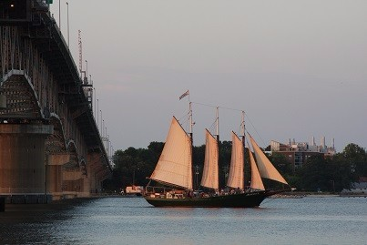 VA - Schooner Alliance in Yorktown