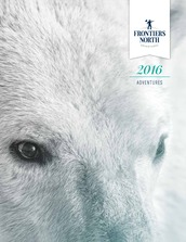 Frontiers North Adventures 2016 Brochure